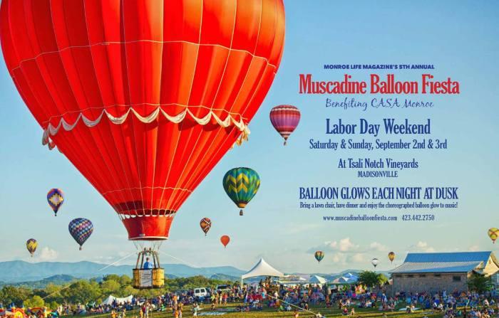 muscadine balloon festival